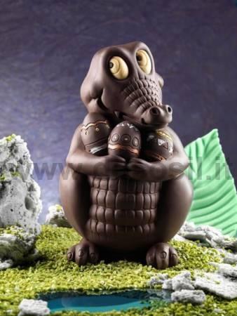 Crocodile Big Chocolate Easter Egg Mould