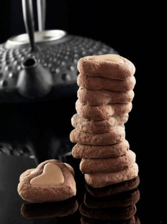 Stampo Biscotti di cioccolato Cuore