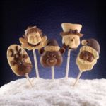 Stampo lollipop Natale decoStick