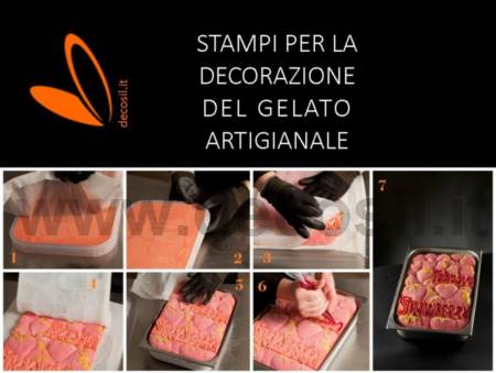 Stampo Tablet Gelato Fragole