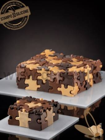 Monoportion Puzzle Cake Mold