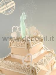 Stylized Couple Cake Topper mold