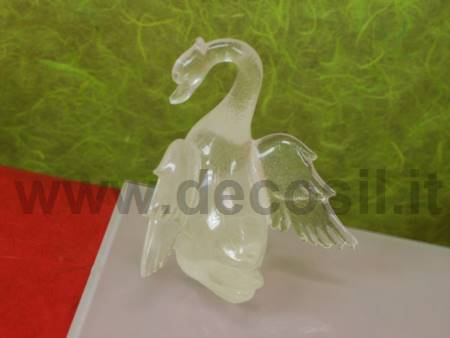 Swan chocolate mold