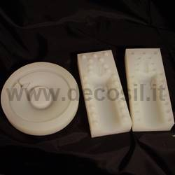 Candle with Plate Mould