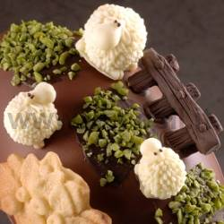 Funny Sheeps Chocolate Mould