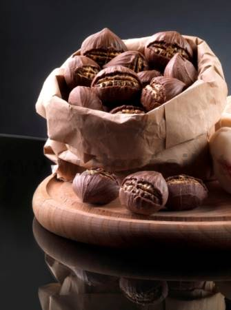 Roast Chestnut mould