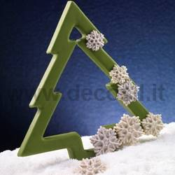 Snow Flakes Mold