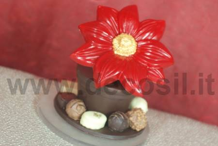 Big Christmas Flower mould