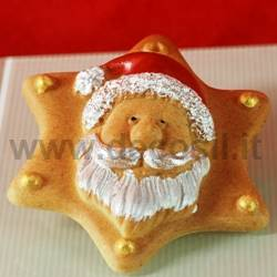 Santa Claus Ornament Mold