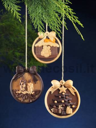 Christmas Crib Ornament Mold
