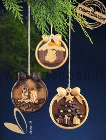 Pendant Christmas Tree mold