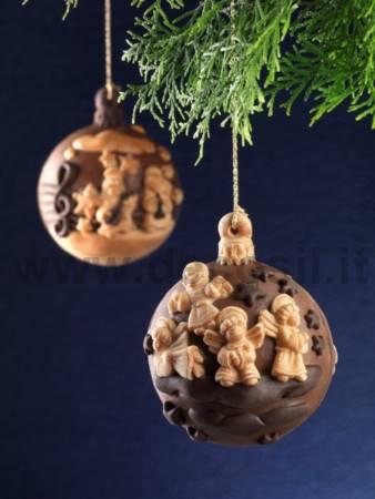 Stampo Pallina di Natale Chiave di Sol