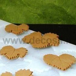 Multiple grape-vine leaves mould