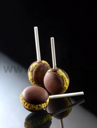 French Macaron Pops mold