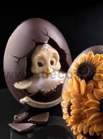 Chocolate Mould Medium Egg Pasquino mould