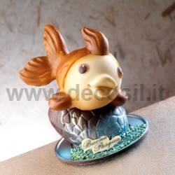 Little Fish Pino - fish silicone chocolate mould
