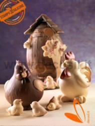 Hen CoccaChicken Chocolate Mould