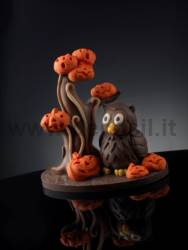 Owl mold Dotto - owl chocolate mold