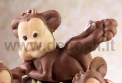 Lying monkey mold