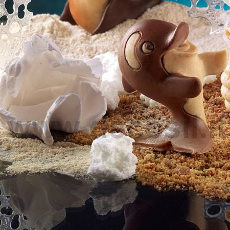 Orca moldes animales para chocolate