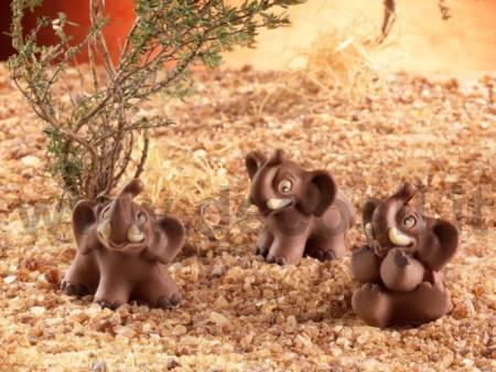 molde Elefantes Lindos