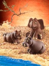 Rhinoceros Mold