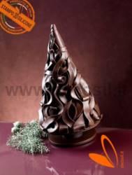 Wood Shavings Christmas tree mold