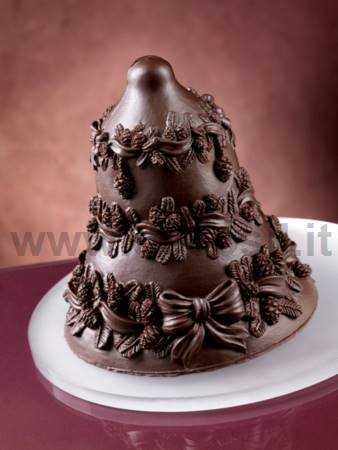 Christmas Chocolate Pinecones Bell Molds