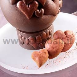 Hearts Egg Cup mould