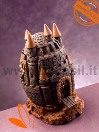 Castle Chocolate Easter Egg Mould