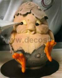 Stampo Guscio Uovo Pulcino di Gelato