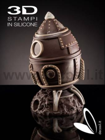 Missile Chocolate Easter Egg LINEAGUSCIO Mold