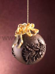 Chocolate Holly Sphere mould