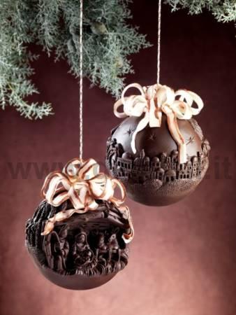 Chocolate Nativity Sphere mold
