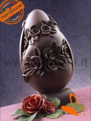 Rose Big Chocolate Easter Egg Mold