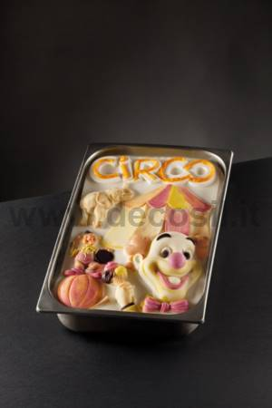 Circus Ice Cream Tablet mold
