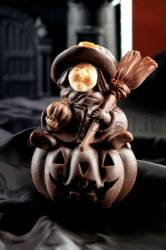 Witch with Pumpkin mold