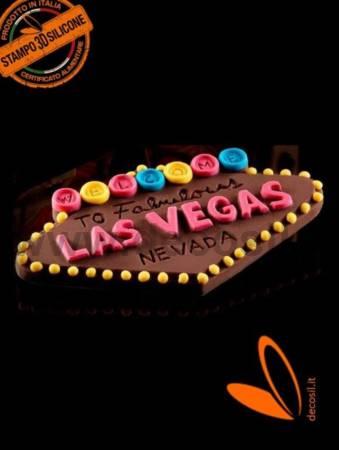 Letrero Las Vegas molde
