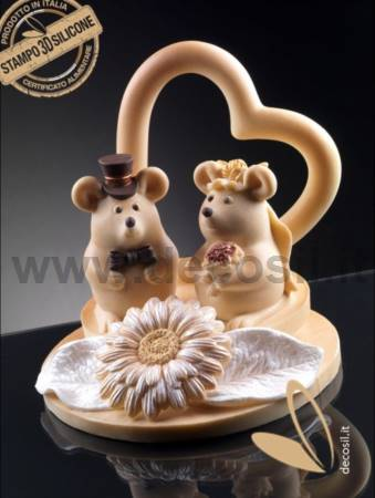 Mouse Bride Mold