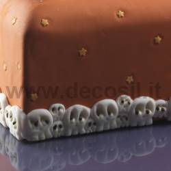 Decor Border Skulls mould