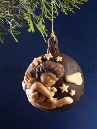 Moule Boule de Noël - Petit Ange