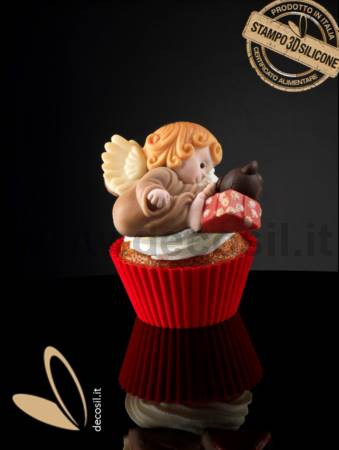 Angel with gift Mold