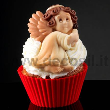 Angel with Candle Mold