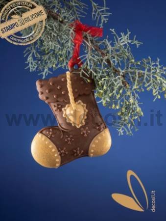 Christmas Hanging Ornament Stocking Mold