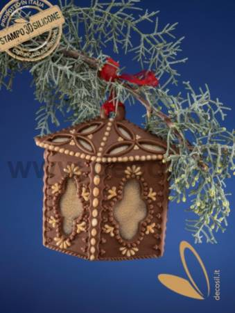 Christmas Hanging Ornament Lantern Mold