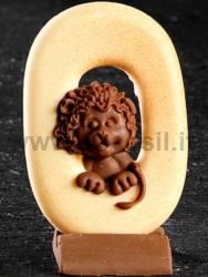 Animal Number 0 Lion Mould