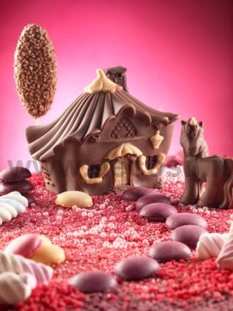 Candy House of Fairies 3D mold