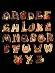 Alphabet LETTERS mold