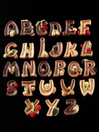 Stampo Alfabeto LETTERE MAIUSCOLE
