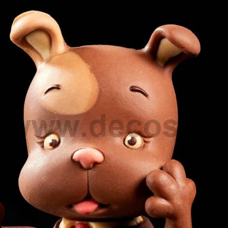 GIOCOLOSO PUPPY DOG HEAD silicone mould